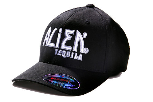 Alien Tequila Black Logo Hat