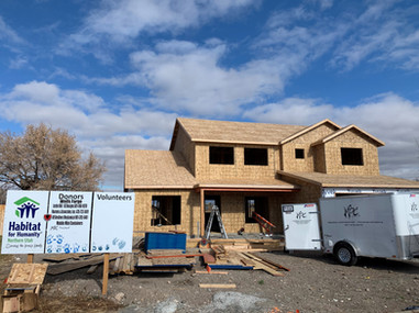 Nov. 2020 house framed