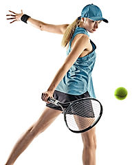 tennis woman isolated silhouette.jpg