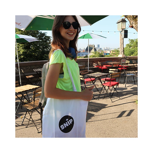 Snip Tote Bag + Free Snip Badge