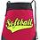 Thumbnail: Mesh Top Zippered Cinch Bag - Customizable