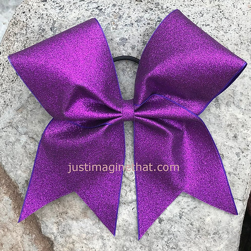 Super Sparkle Glitter Cheer Bow