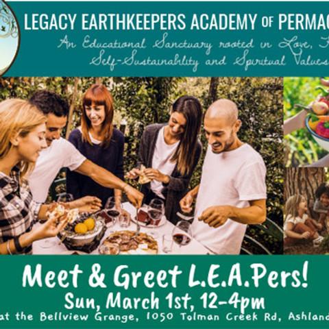 Meet & Greet LEAPers!