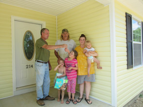 Another family gets a new home thanks to Kentucky Housing Corporation, USDA, FAHE, and Beattyville H