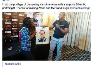 Sibambo Portraits meets Kansiime Anne