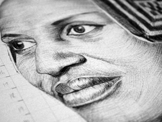 Drawing Miriam Makeba
