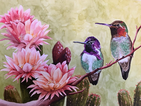Humming Blossoms