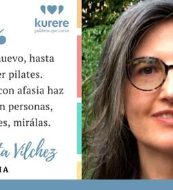 Testimonio de Marta Vilchez, persona con afasia.