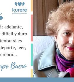 Testimonio de Guadalupe Bueno, persona con afasia.