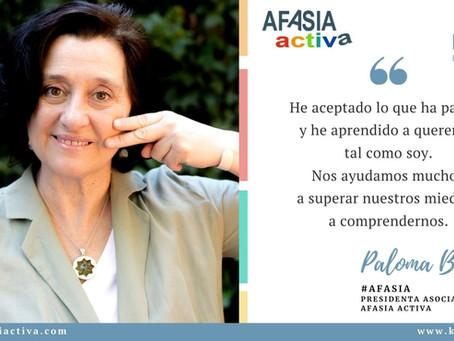 Testimonio de Paloma Blanco de Córdova, presidenta de Asociación Afasia