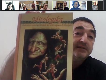 El escritor Aritza Bergara fue nuestro invitado en el Club de Lectura
