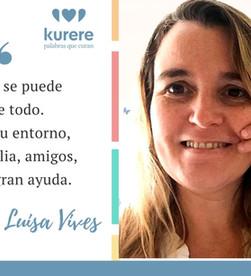 Testimonio de María Luisa Vives, fundadora de Hola que Tal-Afasia y socia de Afasia Activa.