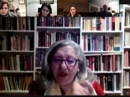 Inma Chacón, escritora y poeta, invitada de lujo del Club de Lectura