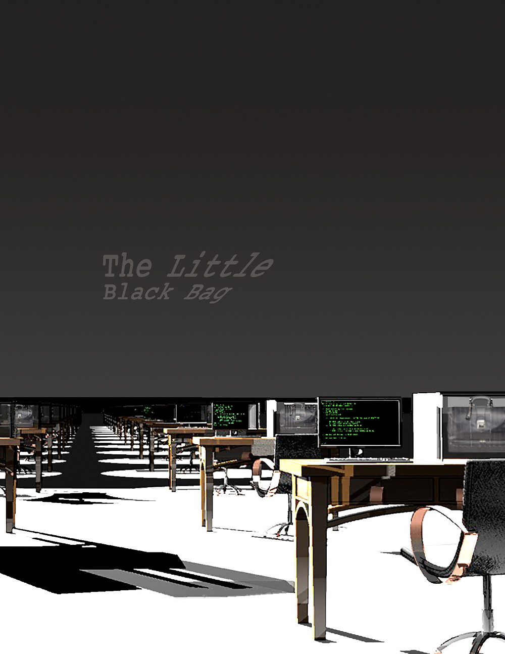 "Cover for ""The Little Black Bag"""