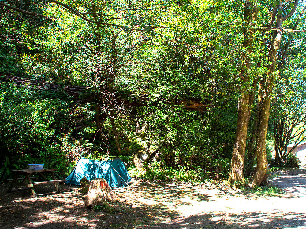 Indian Creek Campground in Gold Beach, OR