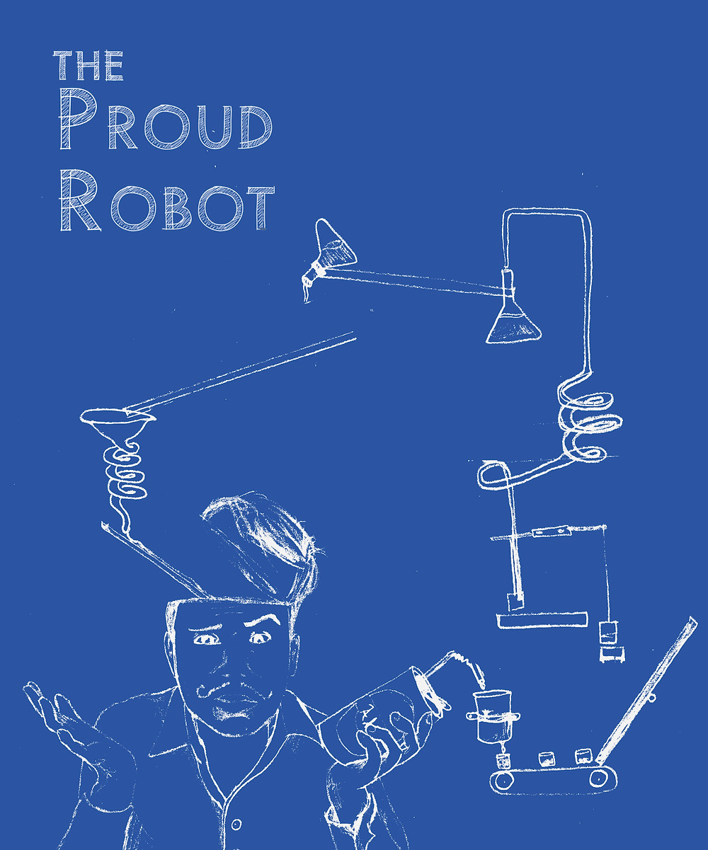 "Cover for ""The Proud Robot"""
