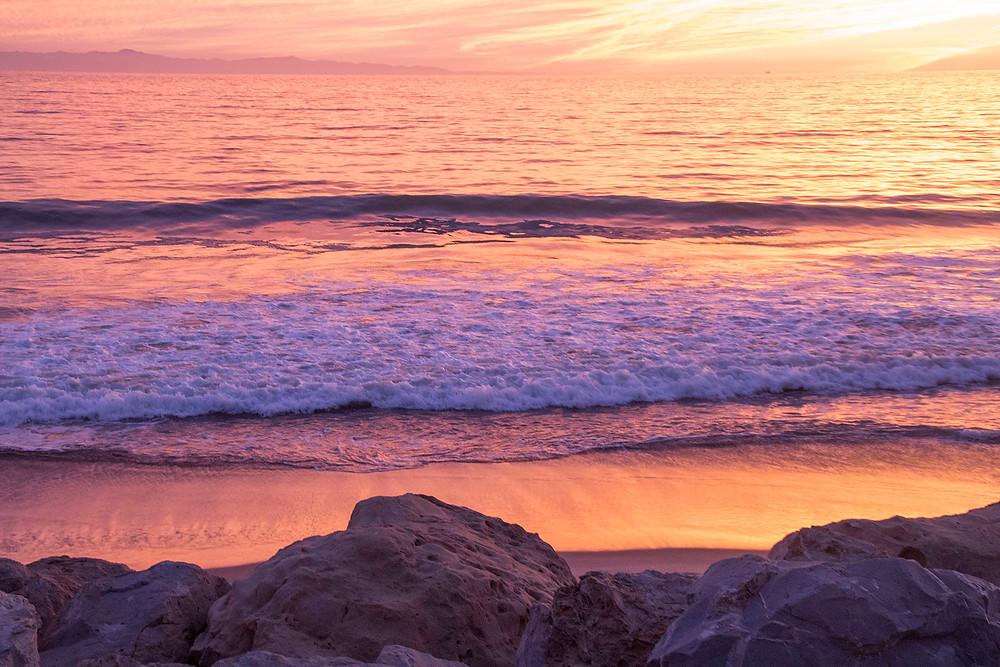 Pastel Sunset waves