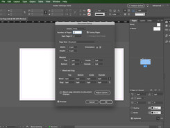 InDesign Basics - Simple Project Page