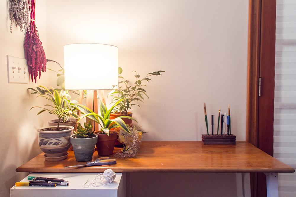 UpCycled DIY Desk