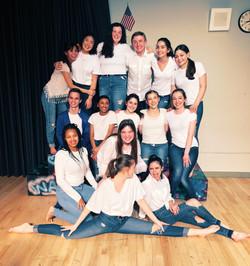 Bergen Academies' theatre class of 2020.