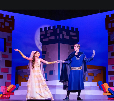 "Lady Larken in ""Once Upon A Mattress"""