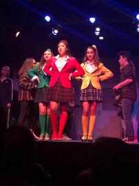 Heather McNamara in Heathers The Musical