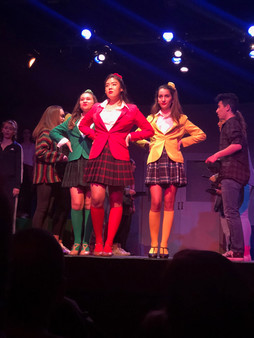 Heather McNamara in Heathers The Musical