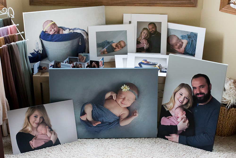 yankton newborn photography photos canvas prints