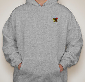 Second 2 Nobody Grey Hoodie (Small Logo)