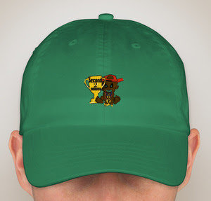 """Second 2 Nobody """"KING GREEN"""" Hat"""
