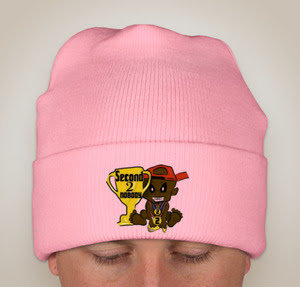 """Limited Edition """"PINK"""" Second 2 Nobody Knit Hat"""