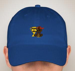 "Second 2 Nobody ""WAVY BLUE"" Hat"