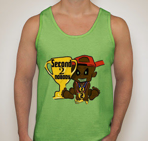 """Limited Edition Second 2 Nobody """"SLIME"""" Tank Top"""