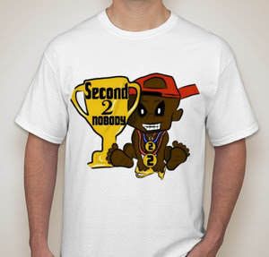 Official Second 2 Nobody T-Shirt