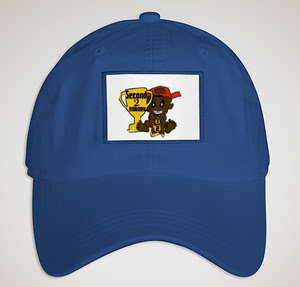 """Second 2 Nobody """"WAVY BLUE"""" Printed Patch Hat"""
