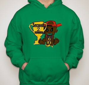 "Limited Edition ""KING GREEN"" Second 2 Nobody Hoodie"