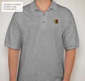 "Second 2 Nobody ""SMOKE"" Polo"