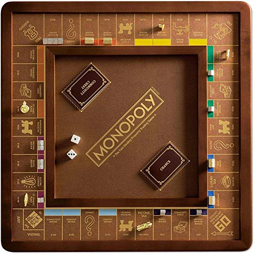 Luxury #Monopoly Board Game