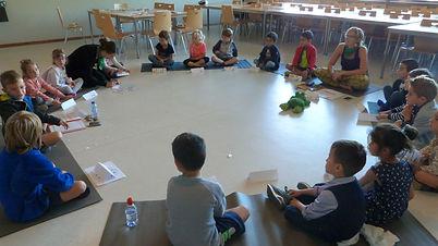 pleine conscience école Ath Tournai