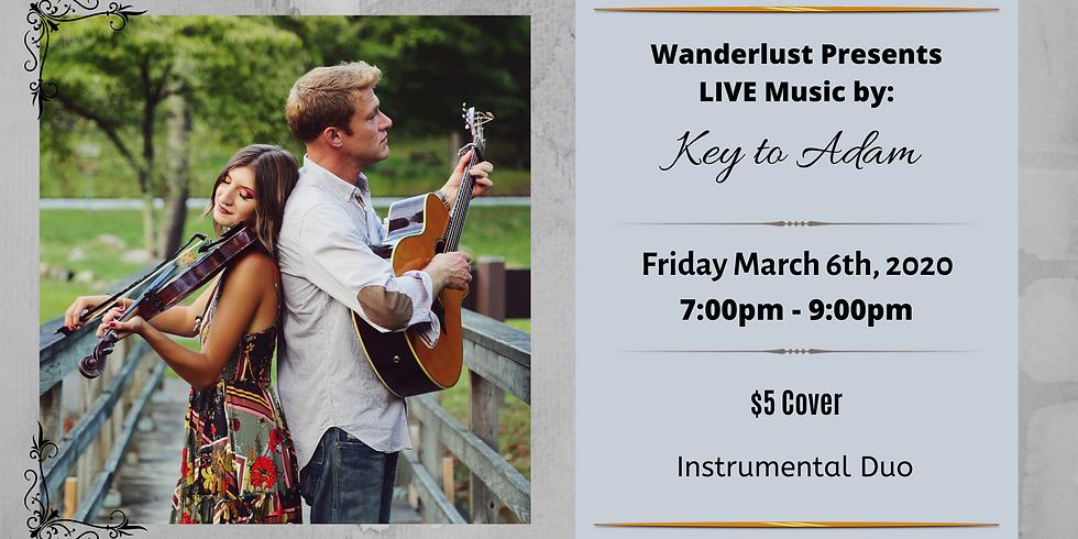 Key to Adam LIVE at Wanderlust!
