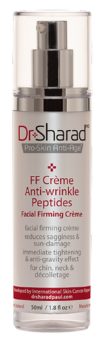 FF Crème + Anti-wrinkle Peptides. Dr Sharad MD. GST incl