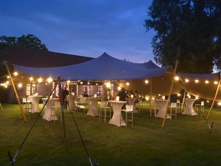 Tent avond bij Pauwkenshof