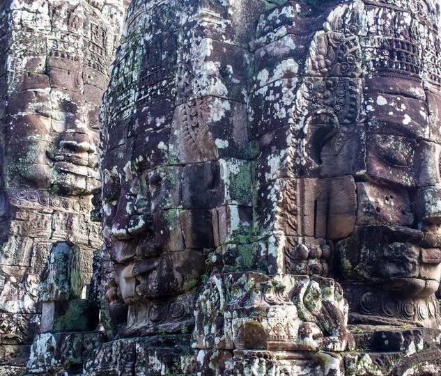 Statues, Angkor Wat, Cambodia