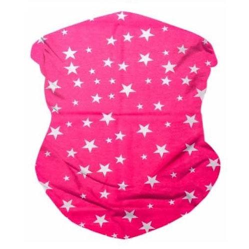 Rockstar Pink Seamless Bandana Mask