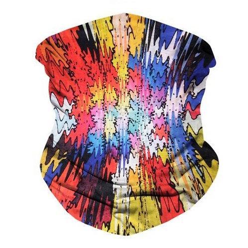 Crazy Colors Seamless Bandana Mask