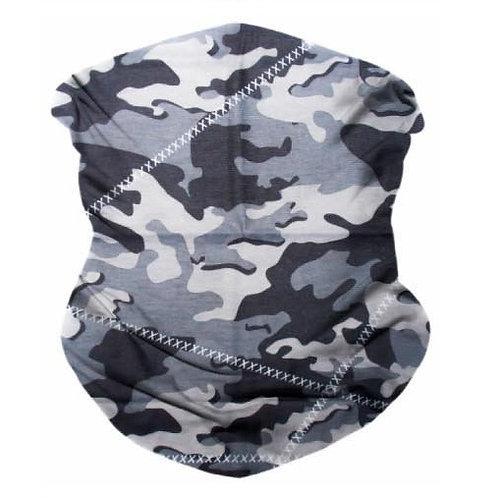 Grey Seamless Bandana Mask