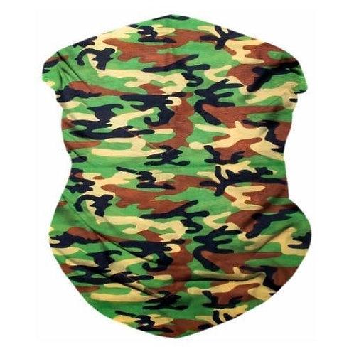 Army Camo Seamless Bandana Mask