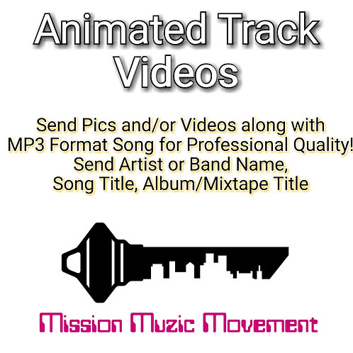 Animated Track Video