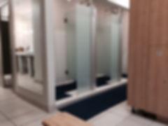 Showers, Steam Room