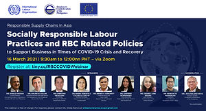 Socially Responsible Labour Practices and RBC-Related Policies to Support Business in Times of COVID-19 Crisis and Recovery